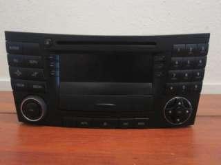 MERCEDES BENZ W 211 E CLASS E320 / E500 03 06 RADIO/ CD/ AUDIO UNIT