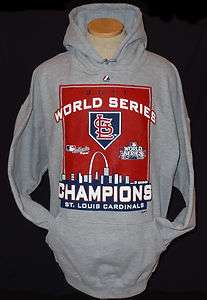 St. Louis Cardinals 2011 World Series Champions Hooded Sweatshirt