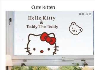 &Teddy The Teddy wall decal vinyl Wall decor Sticker in kid room#005