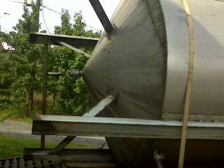5,000 5014 5000 Gallon Stainless Steel Tank w Cone Bottom in GA