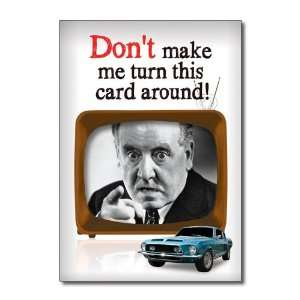 Funny Fathers Day Card Turn Card Around Humor Greeting Ron