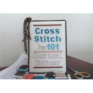 Cross Stitch 101   Cross Stitch Pattern: Arts, Crafts