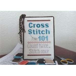 Cross Stitch 101   Cross Stitch Pattern: Arts, Crafts