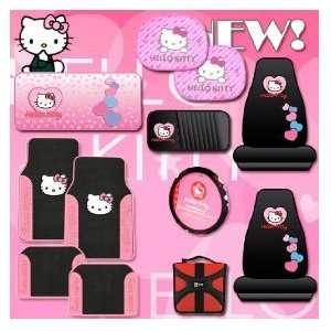 Hello Kitty Sanrio Hearts Design 12 Pieces Combo Set Front