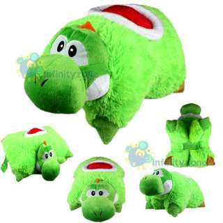 mario bros yoshi transforming pet pillow cushion plush toy cp004sm