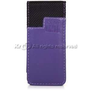 Leather and Black Nylon Melrose Case for Apple iPod Nano Chromatic