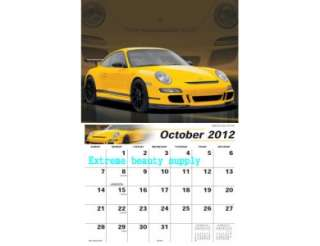 ferrari lamborghini Porsche sports Racing car 2012 Calendar