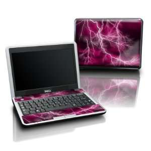 Pink Design Protective Skin Decal Sticker for DELL Mini 12 Laptop