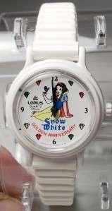 Disney Rare Vintage Lorus Snow White Watch New HTF