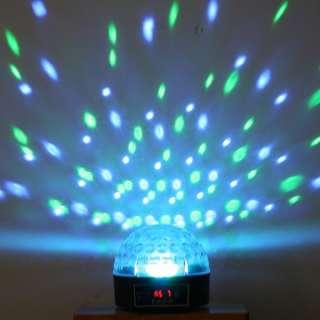 Mini DMX Disco DJ Stage Lighting LED RGB Crystal Magic Ball Effect
