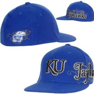 Of The World Kansas Jayhawks Brigade Team Color Hat One Size Fits All