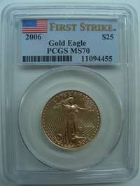 2006 $5,$10,$25,$50 PCGS MS70 FIRST STRIKE GOLD EAGLE 4 COINS SET RARE