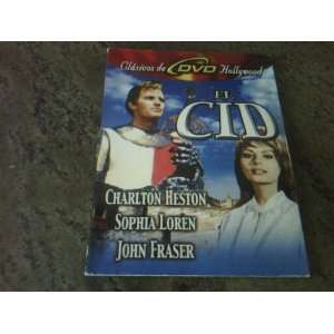 El Cid / Charlton Heston / Sophia Loren / Spanish Language DVD