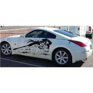 CAR VINYL GRAPHICS STICKER DECAL ANIME GIRL RIFLE 001