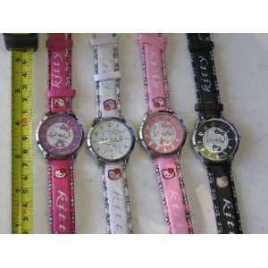 Hello Kitty Quartz Watch 4 Color Pack