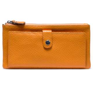 Soft Real leather Credit Card Coin Charge Wallet Purse,9 colors