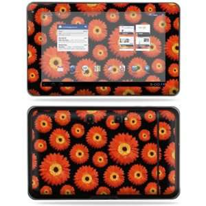 Skin Decal Cover for LG G Slate T Mobile Orange Flowers: Electronics