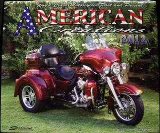 2012 Calendar for Harley Davidson American Creations Just Custom