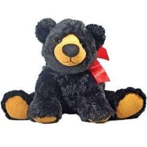 Cute Stuffed Plush Cuddly Black Bear That Is Very Soft To
