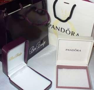 AUTHENTIC PANDORA SILVER 925 BRACELET SET W/ BOX & BAG ANGELS GIFT
