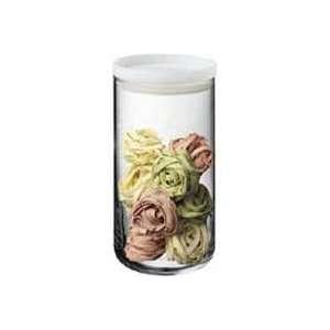 Bodum 68oz Yohki Glass Storage Jar with Milk White Lid