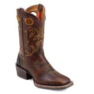Mens TONY LAMA 11 Boots Dark Tan Sequoia RR9009