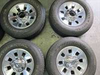 Ford F250 Factory 18 Wheels Tires OEM Rims 275/70/18 Continental 3690