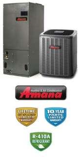 Ton 15 Seer Amana Heat Pump System   ASZ140361   AVPTC31371