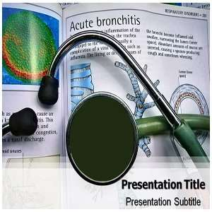Bronchitis PowerPoint Template   Backgrounds PowerPoint Templates on