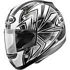 RX Q TALON GREY MOTORCYCLE FULL FACE HELMET X LARGE *SAVE $260.00