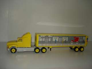 Winross The Story of Ford Trucks Tractor Trailer SN10170