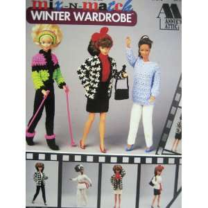 Fashion Doll Winter Wardrobe (Annies Attic, 87D72) various Books