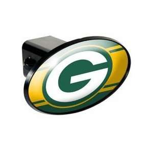 Green Bay Packers Oval Trailer Hitch Cover Sports