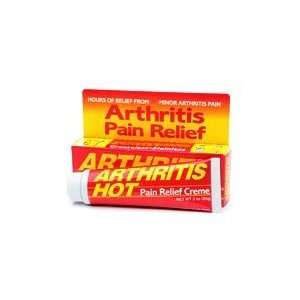 Arthritis Hot Deep Penetrating Pain Relief Creme 3 oz (85