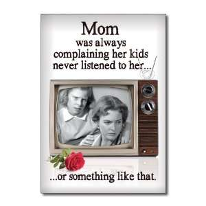 Funny Mothers Day Card Kids Never Listen Humor Greeting