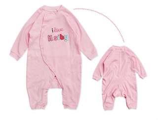 Pink Baby Grow Top Bodysuit Romper Onesie 0 12Months