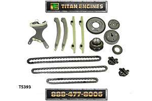 DODGE Truck 287 4.7 Engine Timing Chain Set 00 02