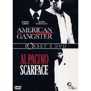 American Gangster / Scarface (1983) (2 Dvd) Al Pacino, Armand Assante