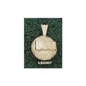 LSU Tigers Solid 10K Gold Classic LSU Basketball
