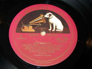 Frankie Avalon/Young And In Love/1960 HMV LP/EX