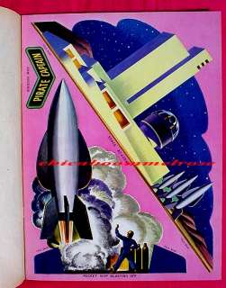 Tom Corbett Space Cadet 1952 punchout book pop outs
