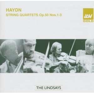 Haydn String Quartets, Op. 50, Nos. 1 3 Franz Joseph Haydn Music
