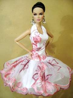 Clothes Dress Outfit Gown Silkstone Barbie Fashion Royalty Candi
