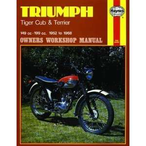 Haynes Manual   Triumph Tiger Cub & Terrier 52 68 Automotive