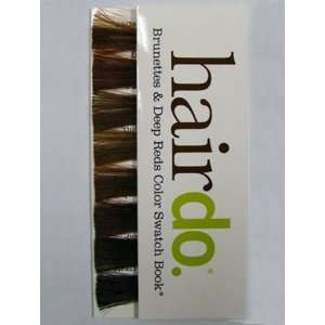 HairDo Brunettes & Deep Reds Color Swatch Book Beauty