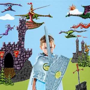 com Dragon Wall Stickers for Dragons Knight Castle Wall Mural   Easy
