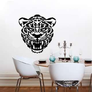 Jaguar Leopard Wildcat Vinyl Wall Art Sticker Decal
