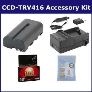 Sony CCD TRV416 Camcorder Accessory Kit includes HI8TAPE Tape/ Media