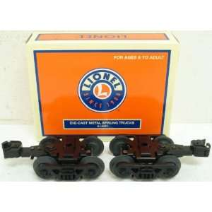 Lionel 6 14251 Die Cast Metal Sprung Trucks w/Rotating