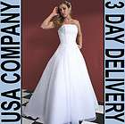 Organza hand beaded Wedding Dress Gown Size 12 Ivory   Brand New F223